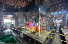 Camboya cierra mercado mayorista en Phnom Penh a causa del COVID-19