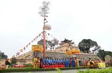 El levantamiento del cay neu en el palacio real de Hue