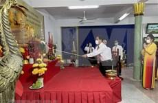 Vietnamitas en Tailandia homenajean a legendarios fundadores de la nación