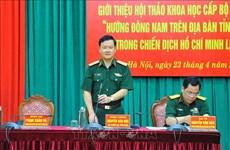 Efectuarán seminario sobre campaña histórica Ho Chi Minh en Dong Nai