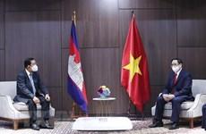 Primer ministro de Vietnam se reúne con sus homólogos de Camboya, Singapur y Malasia