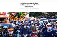 Periódico estadounidense valora medidas antiepémicas de Vietnam