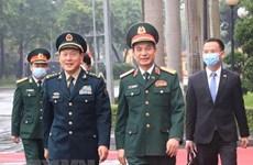 Agilizan cooperación entre Vietnam y China en defensa