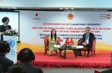 Japón ayudará a Vietnam en la mitigación de los impactos del COVID-19 en grupos vulnerables