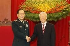 Aboga máximo dirigente partidista de Vietnam por fomento de relaciones con China