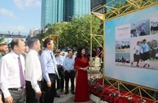 Abren exposición fotográfica en Ciudad Ho Chi Minh por aniversario 46 de la Reunificación Nacional