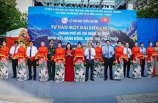 Exposición fotográfica en Ciudad Ho Chi Minh conmemora reunificación de Vietnam