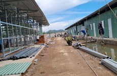 Provincia vietnamita Kien Giang establece hospital de campaña con 300 camas