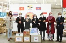 Comité de la ASEAN ayuda a pobladores afectados por COVID-19 en la República Checa