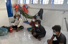Detectan entrada ilegal de cinco marineros a zona marítima de Kien Giang