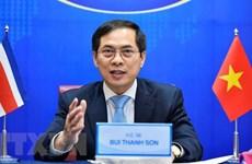 Fortalecen amistad y cooperación entre Vietnam y Costa Rica