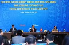 Alaba comunidad internacional desempeño de Vietnam en Consejo de Seguridad de ONU