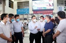 Hanoi inspecciona labores de lucha antiCOVID-19