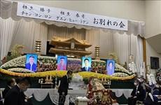 Organizan funeral para dos víctimas vietnamitas de derrumbe en Japón