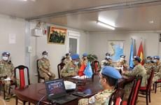 Cumplen soldados médicos vietnamitas misión en Sudán del Sur