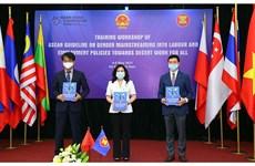 Vietnam y la ASEAN se esfuerzan por promover la igualdad de género