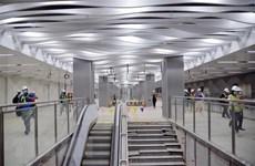 Completan el piso B1 de línea 1 de metro en Ciudad Ho Chi Minh