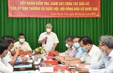 Revisan preparativos para las elecciones legislativas en Kien Giang y Phu Yen