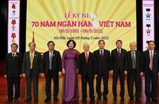 Enaltecen aportes del sector bancario al desarrollo económico de Vietnam