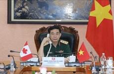 Vietnam y Canadá acuerdan fortalecer nexos de cooperación en defensa