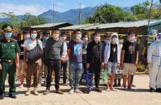Vietnam intensifica inspección y control de entrada ilegal en medio del COVID-19