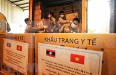 Aprecia medio laosiano ayuda de Vietnam en combate contra el COVID-19