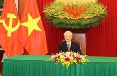 Máximos dirigentes partidistas de Vietnam y Cuba abogan por estrechar aun más los lazos bilaterales