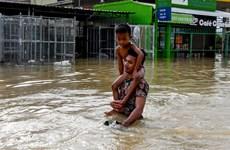 Lluvias intensas destruyen cientos de viviendas en provincias camboyanas