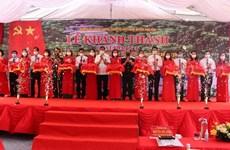 Finalizan primera fase de la Reliquia Histórica del Bosque del General Vo Nguyen Giap