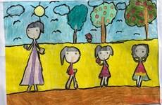Organizarán Premio de Bellas Artes para Niños Vietnamitas en 2021