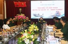 Vietnam lanzará concurso de conocimiento sobre los Army Games