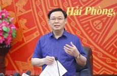 Presidente del Parlamento de Vietnam traza orientaciones para avance de Hai Phong