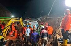 Alud provoca ocho muertos y un desaparecido en Indonesia