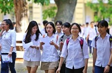 Más de un millón de alumnos se inscriben para examen de bachillerato en Vietnam