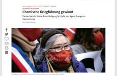 Prensa alemana: Sin tregua, lucha por justicia para las víctimas vietnamitas de la dioxina