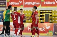 Selección vietnamita de futsal  coloca a dos partidos de clasificar a la Copa Mundial
