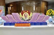 Exhiben en Quang Ninh libros sobre elecciones a la Asamblea Nacional de Vietnam