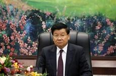 Agradece máximo líder laosiano apoyo de Vietnam en lucha contra COVID-19