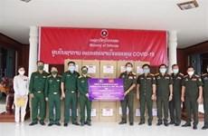 Continúan llegada de donaciones de Vietnam a la lucha antipandémica en Laos