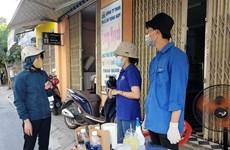 Miles de jóvenes en Da Nang se ofrecen como voluntarios para enfrentar al COVID-19
