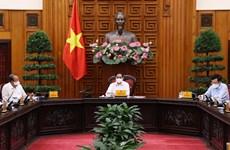 Primer ministro de Vietnam preside reunión sobre la lucha contra COVID-19