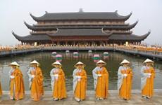 Extienden mejores deseos a comunidad budista en Vietnam con motivo del Vesak