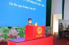 Organizarán votación anticipada en colegios electorales de 16 localidades vietnamitas