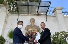 Rinden homenaje al Presidente Ho Chi Minh en Argelia y México