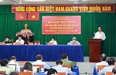Dialoga presidente de Vietnam con electores en Ciudad Ho Chi Minh