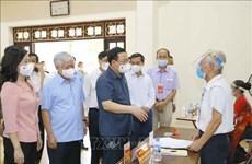 Inspeccionan elecciones en provincias vietnamitas de Bac Giang y Bac Ninh