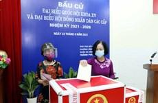 Elecciones legislativas en Vietnam: Dirigentes acuden a las urnas en Hanoi