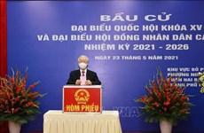 Agencias noticiosas internacionales valoran elecciones legislativas de Vietnam
