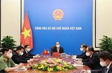 Presidente de Vietnam aboga por impulso de cooperación contra COVID-19 con China