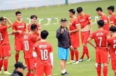 Selección vietnamita de fútbol partirá mañana hacia Emiratos Árabes Unidos